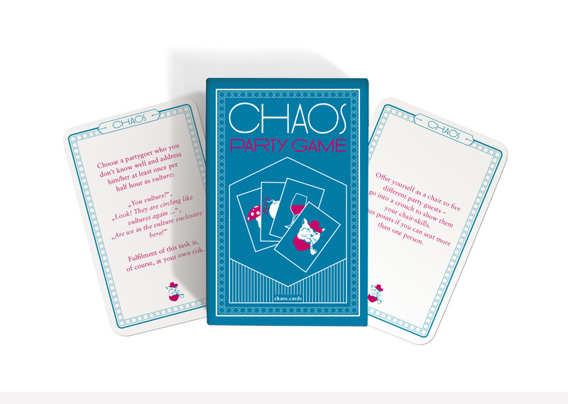 CHAOS PARTY GAME ENGLISH VERSION