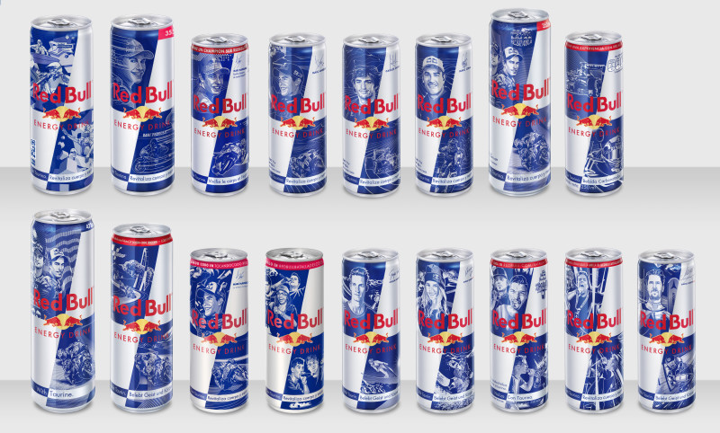 red bull cans overview